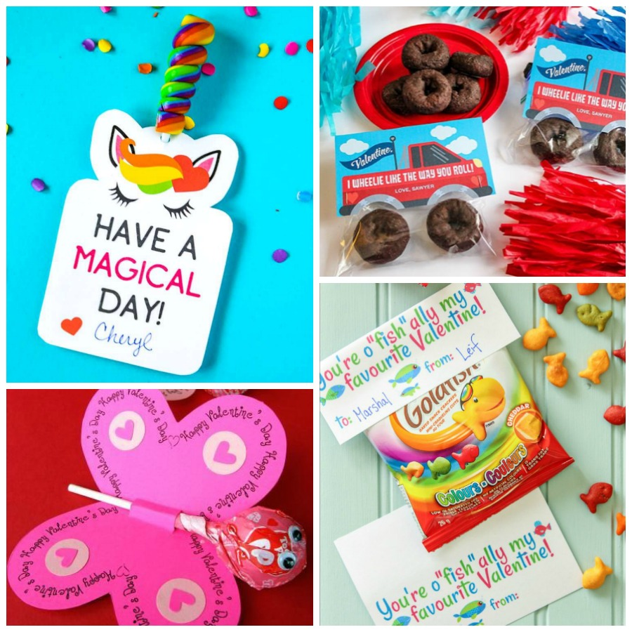 Looking for the perfect Valentines for Valentine's Day? Here's a list of the best FREE printable Valentines for kids! Simple print and attach a small treat to hand out to your classmates.