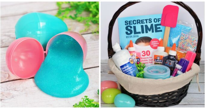Slime Easter Basket Idea For Kids