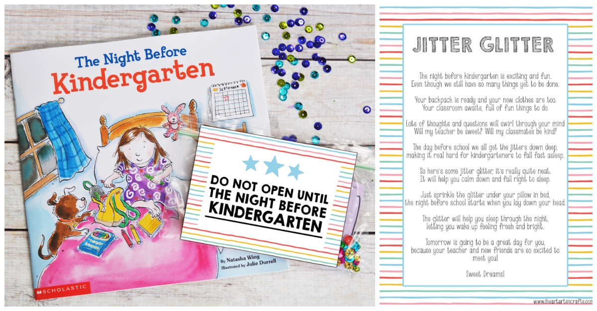 image about Jitter Glitter Poem Printable known as 10 Variables Toward Do Right before Kindergarten Starts off - I Center Arts n