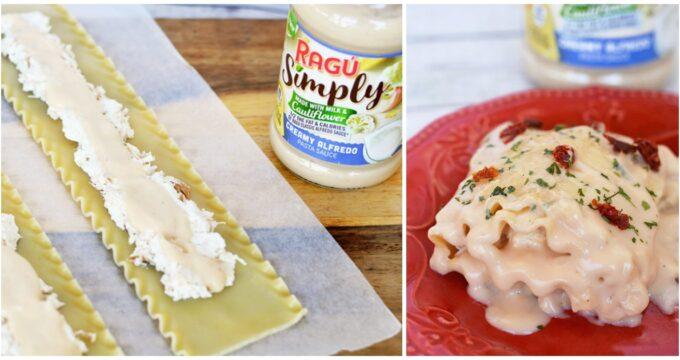 Chicken Alfredo Roll Ups – Fall Food Favorites