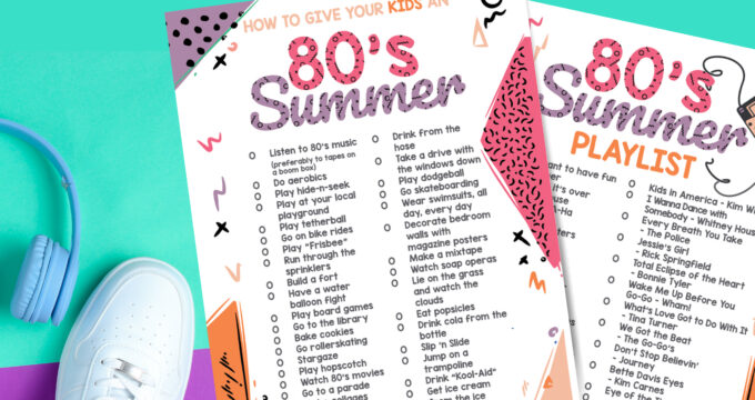 How To Give Your Kids A 1980's Summer